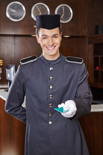 botones de hotel
